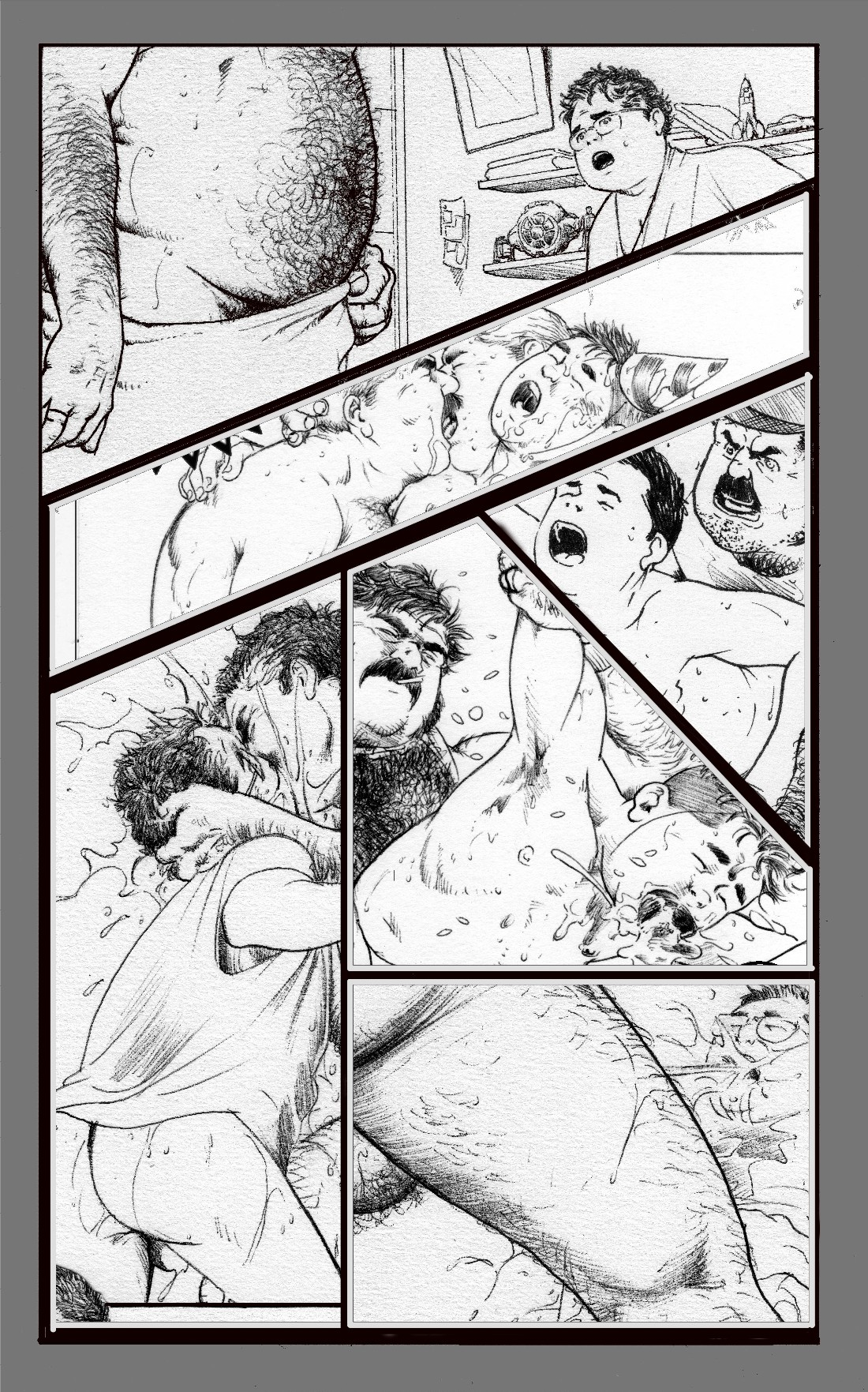 Bruno Bara Comics Gay
