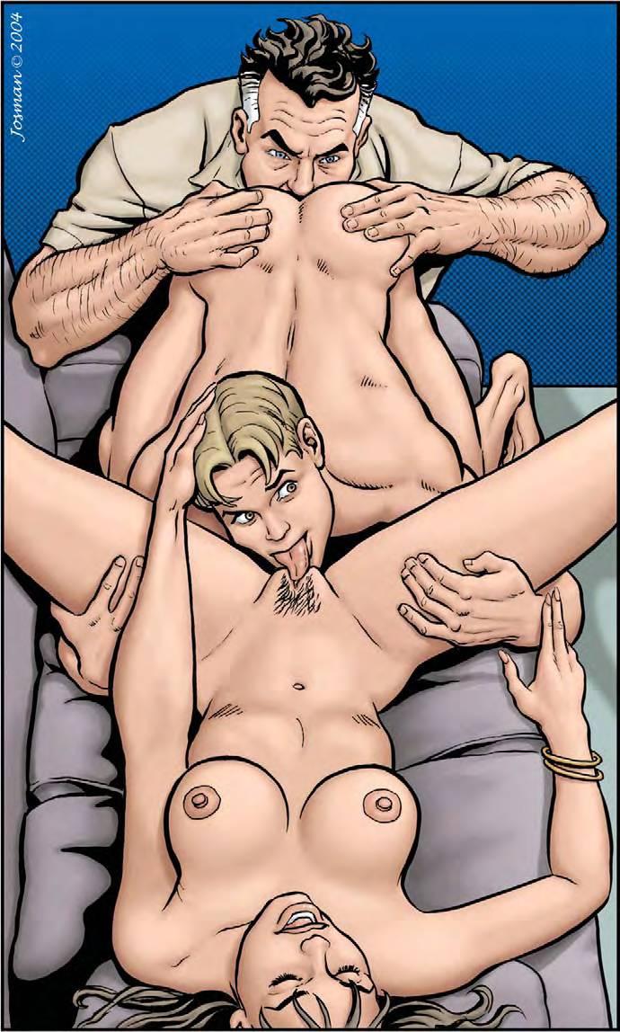 Gay Comic Josman Father Son Porn