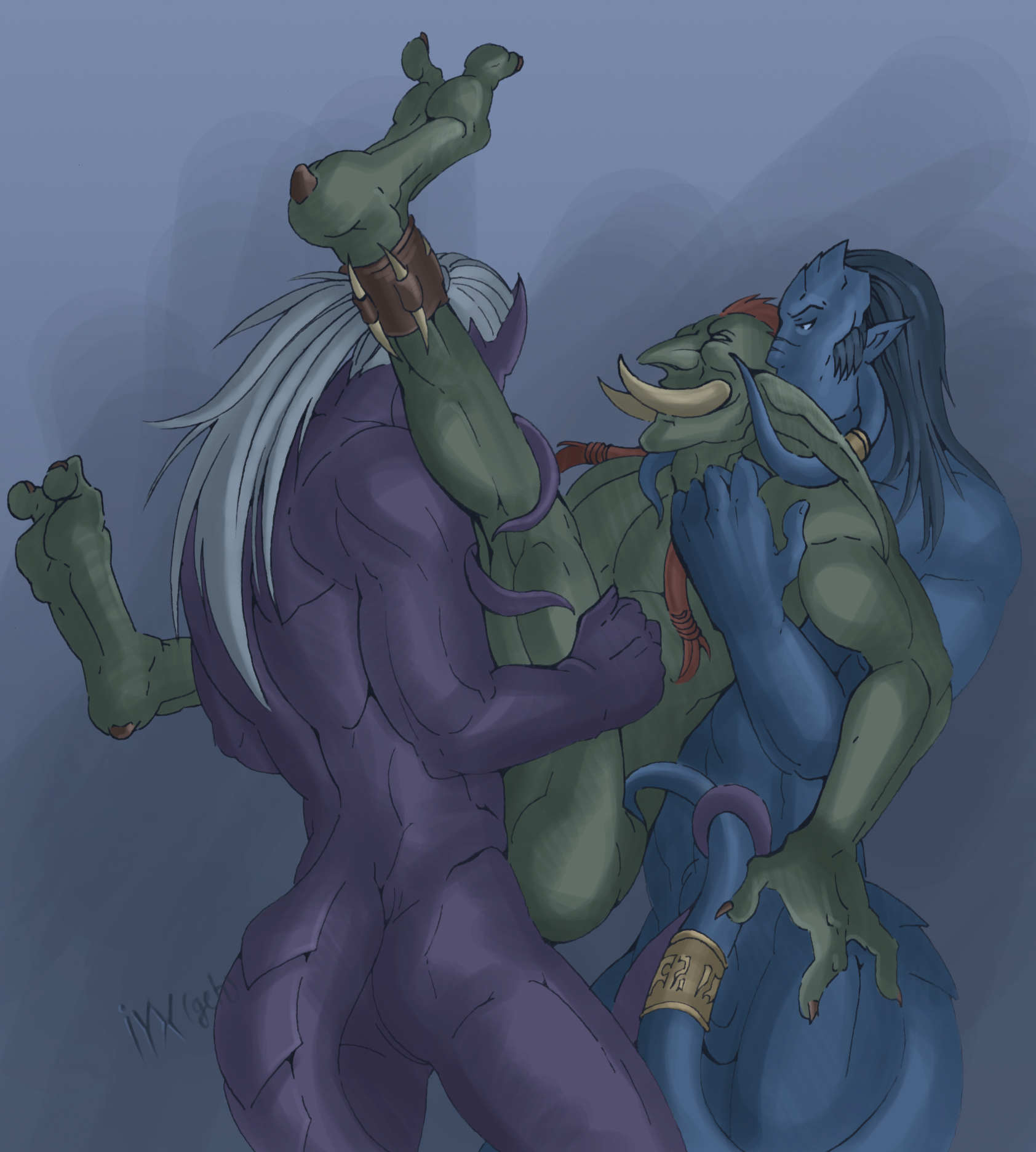 Draenei gay porn hentai pictures