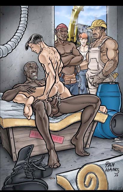 смотреть порно гей комиксы