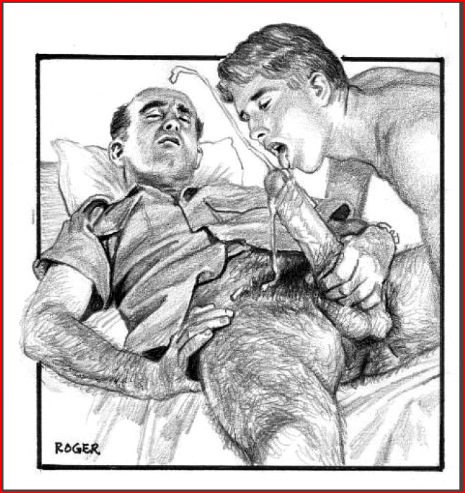 Roger Payne Erotic Artwork