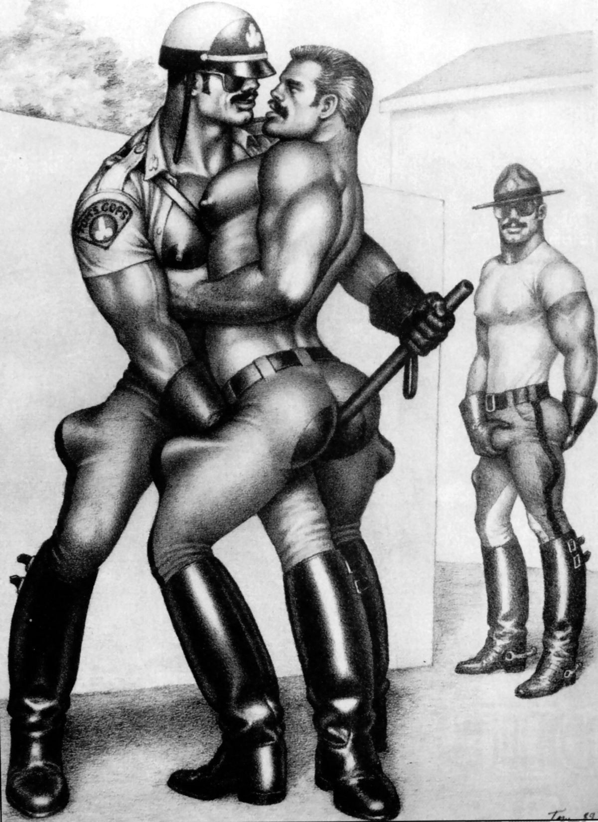 from Jake tom of finland gay art