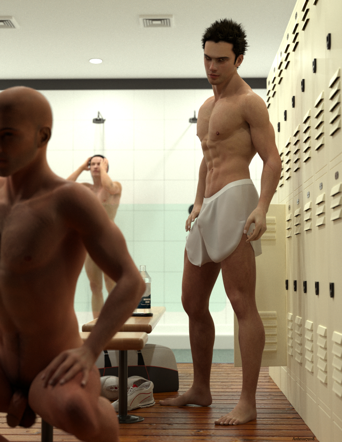 from Yehuda gay men locker nude