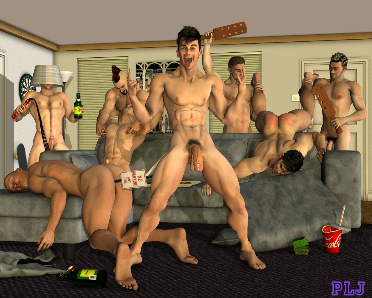 3D naked picture of a big cock  porncraft images