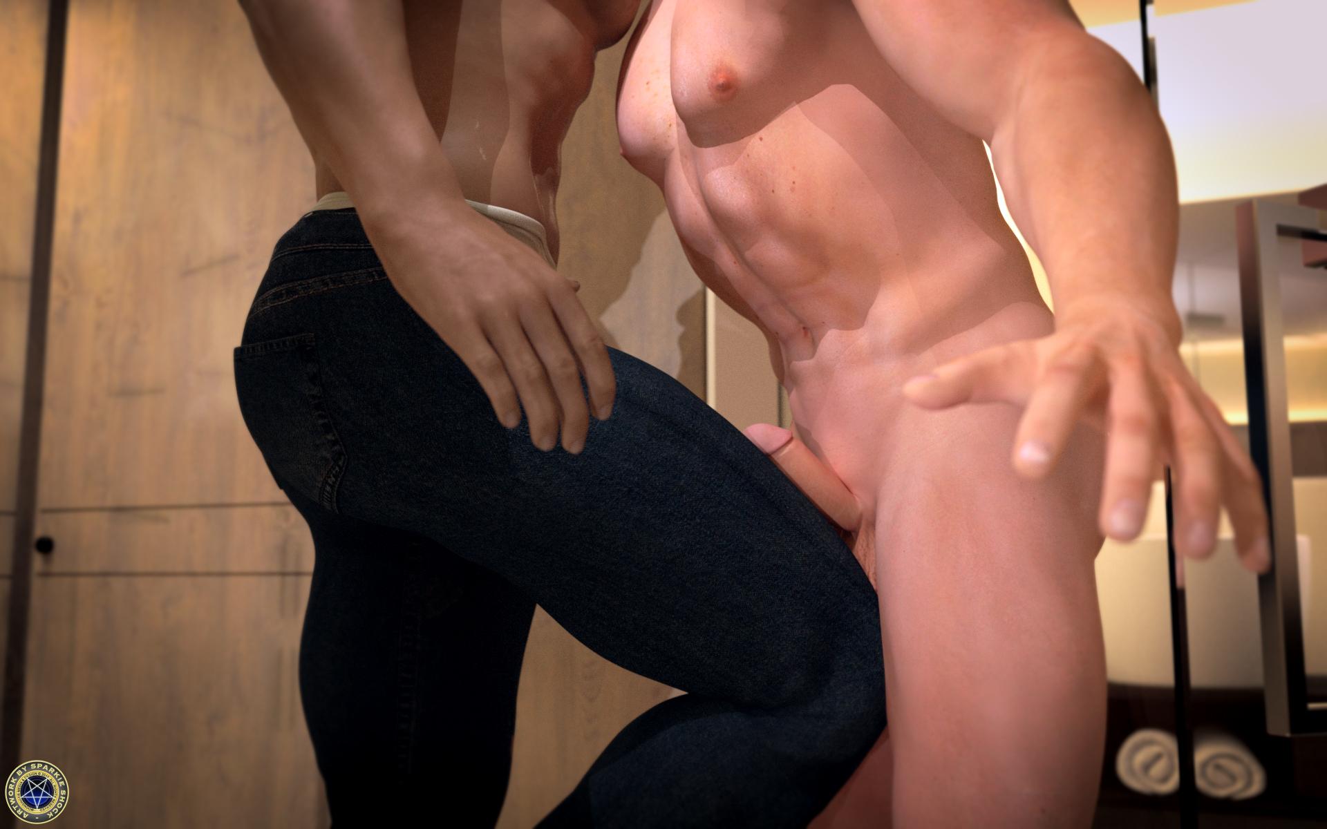 porn in a gym
